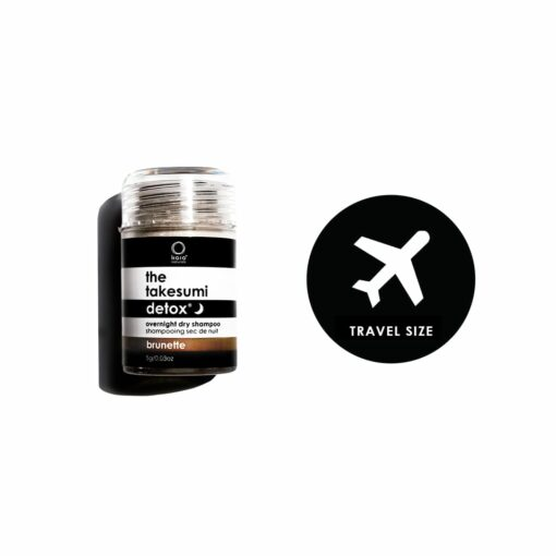 brunette overnight dry shampoo traveller - kaia naturals
