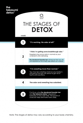 Updated Stages of Detox