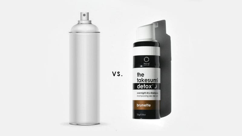 You're Being Cheated on Aerosol Dry Shampoos