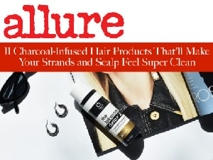 allure charcoal infused hair products