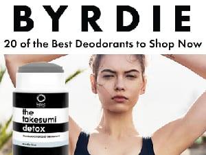 byrdie 20 best deodorants shop now