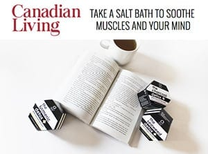 canadian living salt bath soothe muscles and mind