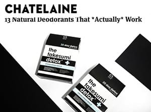 chatelaine natural deodorants that work