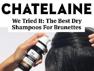chatelaine best dry shampoo brunette