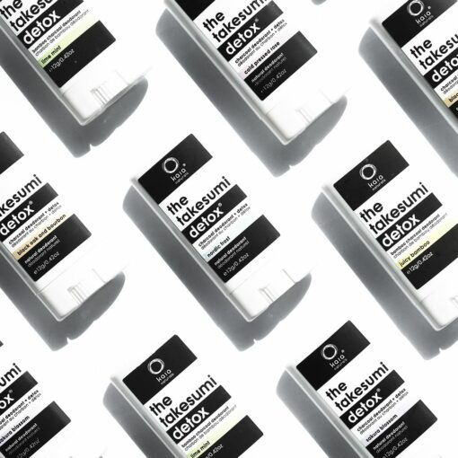 travel size natural deodorant - kaia naturals