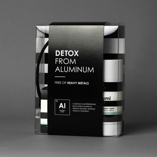 detox with aluminum packaging