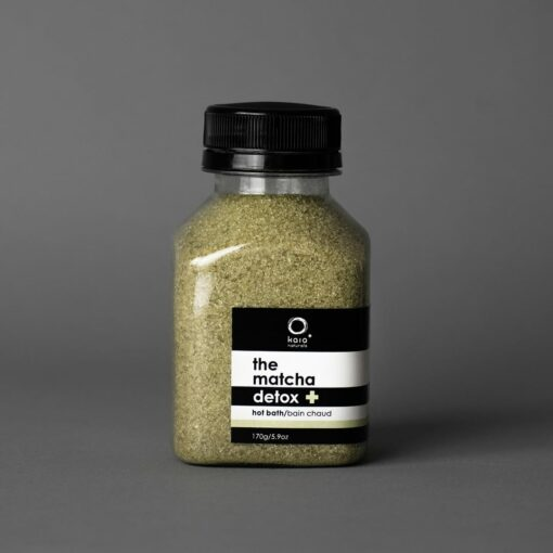 matcha bath salt