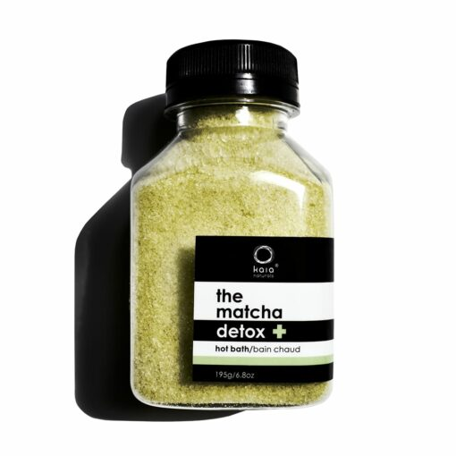 matcha detox hot baths - kaia naturals