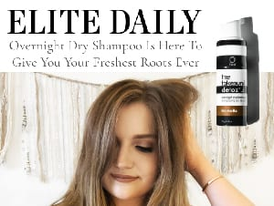 elite daily overnight dry shampoo