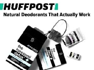 huffington post natural deodorants that work