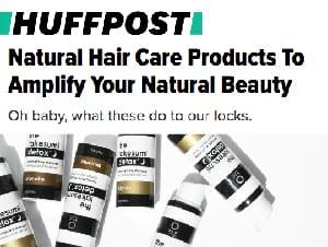 huffington post natural hair care