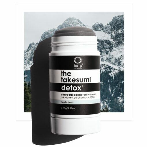nordic frost charcoal deodorant - kaia naturals