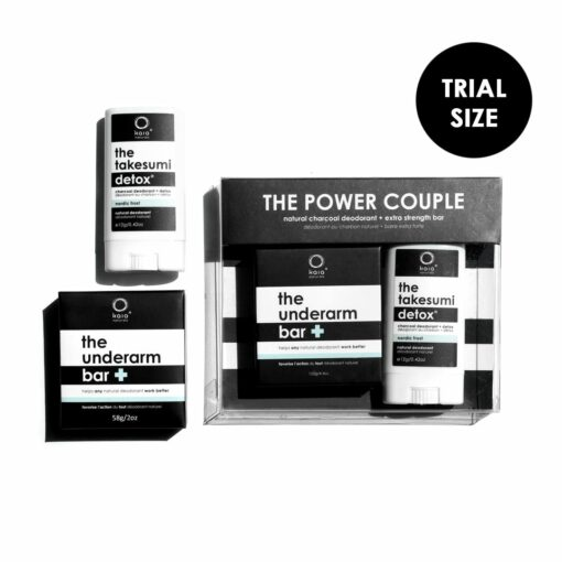 power couple trial size - kaia naturals