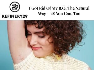 refinery 29 get rid of smelly armpit