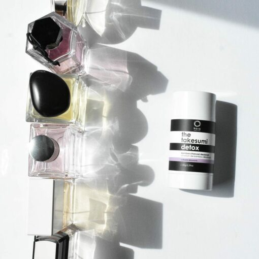 charcoal deodorant sakura blossom