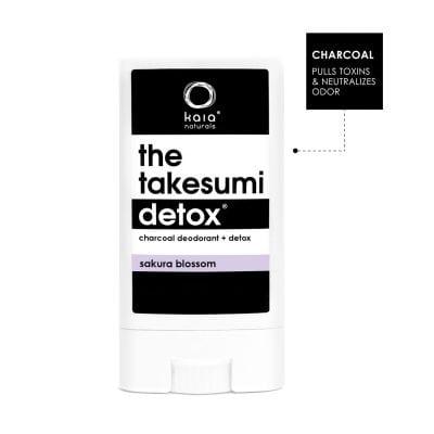 charcoal deodorant sakura blossom travel