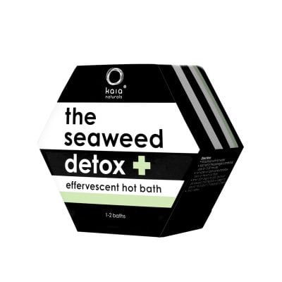 seaweed detox hot bath