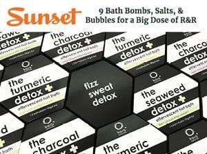 sunset bath bomb r and r