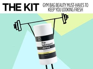the kit gym bag beauty must-haves