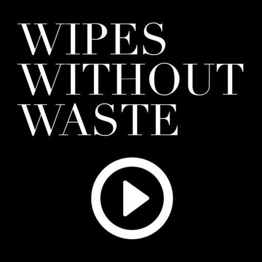 wipes without waste video